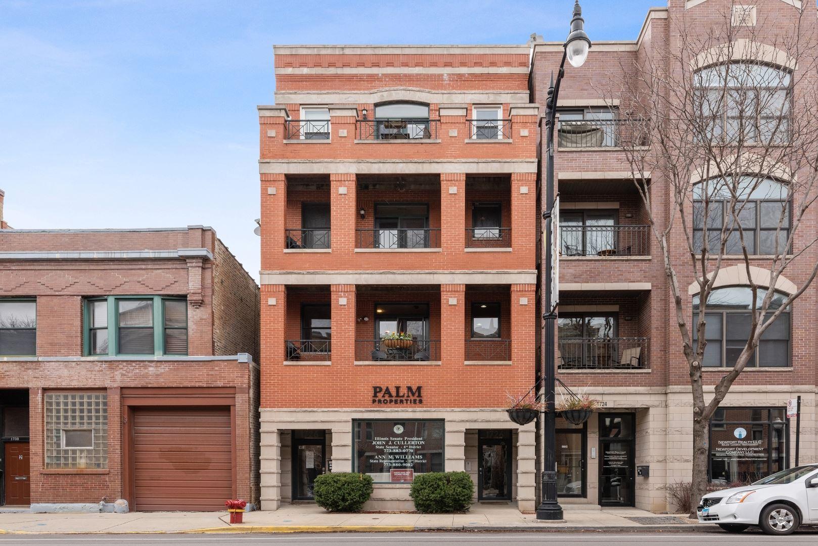 1726 W Belmont Avenue #1, Chicago, IL 60657 - #: 10677921