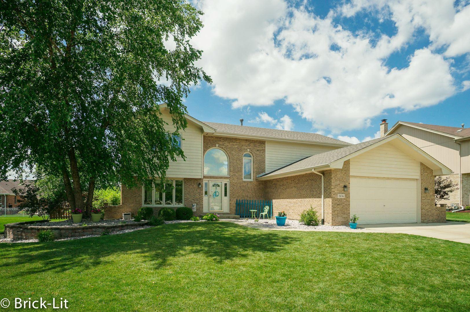 8106 Brookside Glen Drive, Tinley Park, IL 60487 - #: 10779931