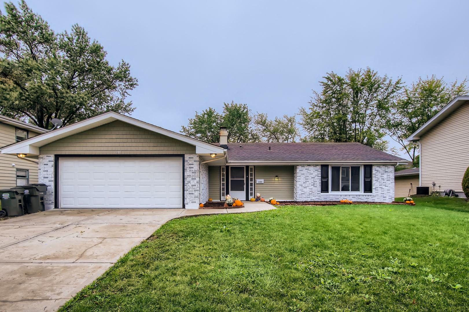 1285 Campbell Lane, Hoffman Estates, IL 60169 - #: 11229937