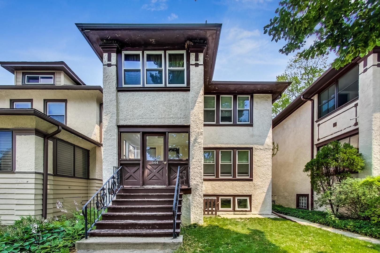 644 S Taylor Avenue, Oak Park, IL 60304 - #: 11182959
