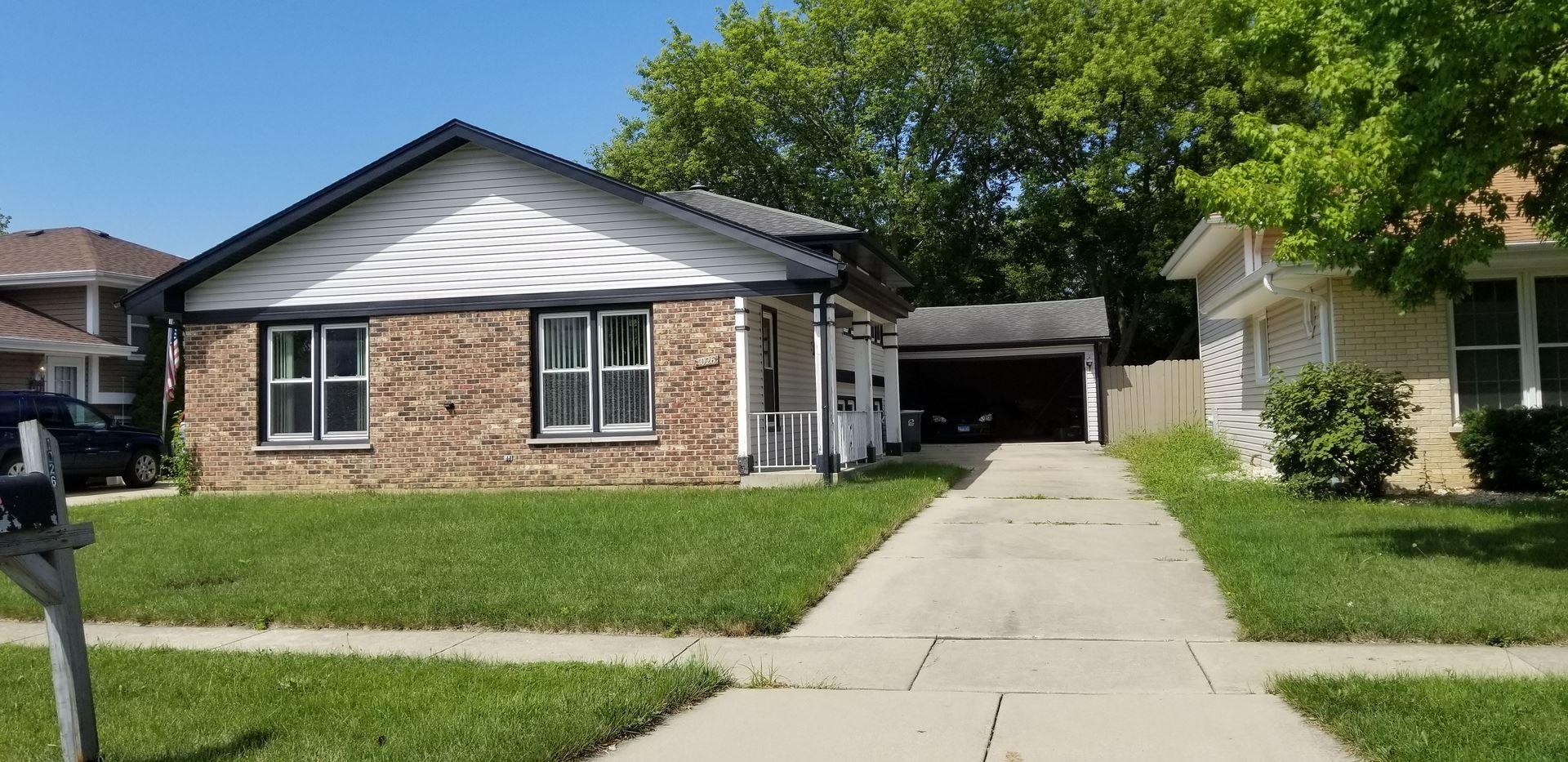 1026 Fulton Drive, Streamwood, IL 60107 - #: 10816962