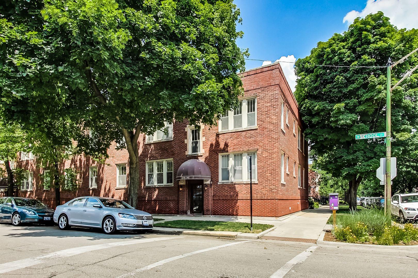 2236 W SCHOOL Street #1, Chicago, IL 60618 - #: 10779963