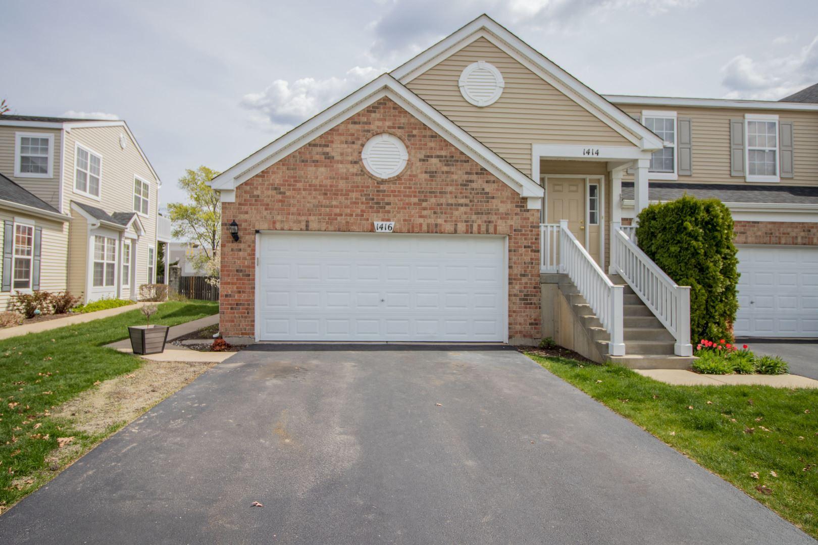 Photo of 1416 Westhampton Drive #1, Plainfield, IL 60586 (MLS # 11057971)