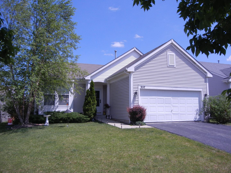 357 Larkspur Lane, Round Lake, IL 60073 - #: 10807984