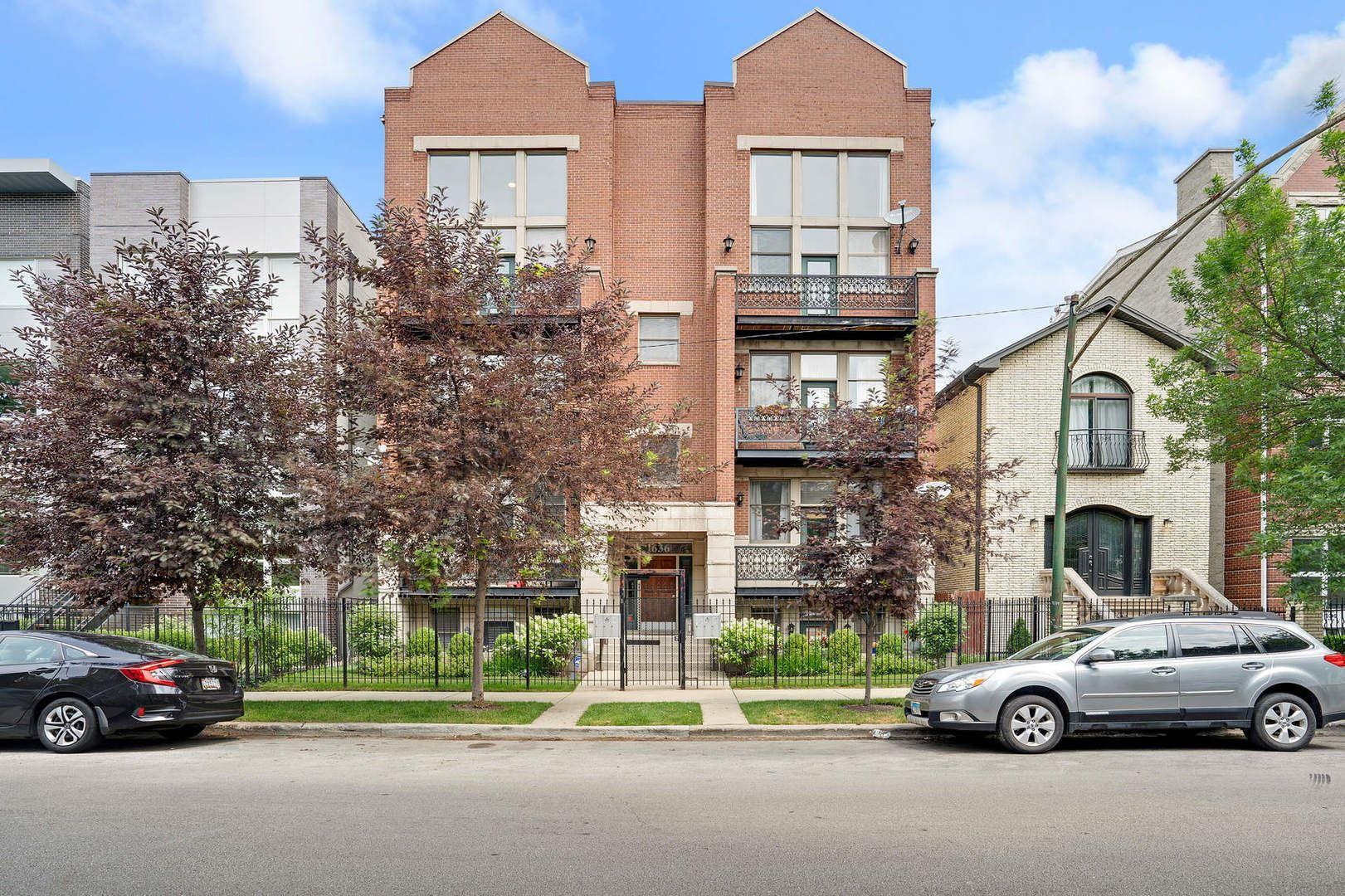 1636 W Erie Street #3W, Chicago, IL 60622 - #: 10758989