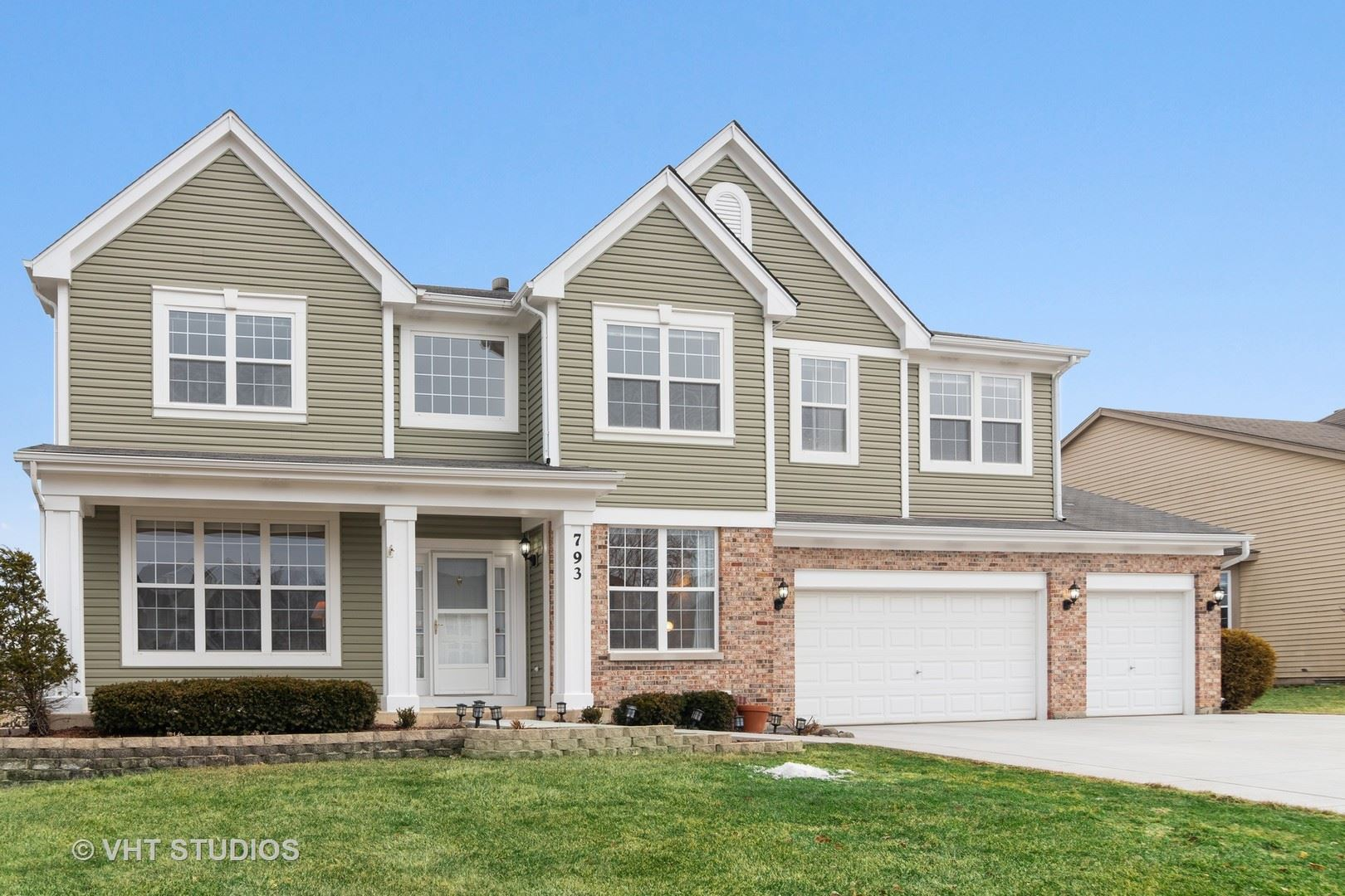 793 Williamstown Drive, Carol Stream, IL 60188 - #: 10655995