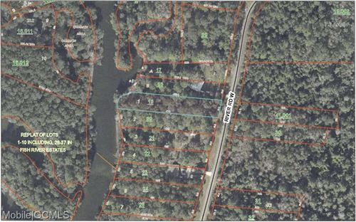 Photo of 0 RIVER ROAD, SUMMERDALE, AL 36580 (MLS # 645121)