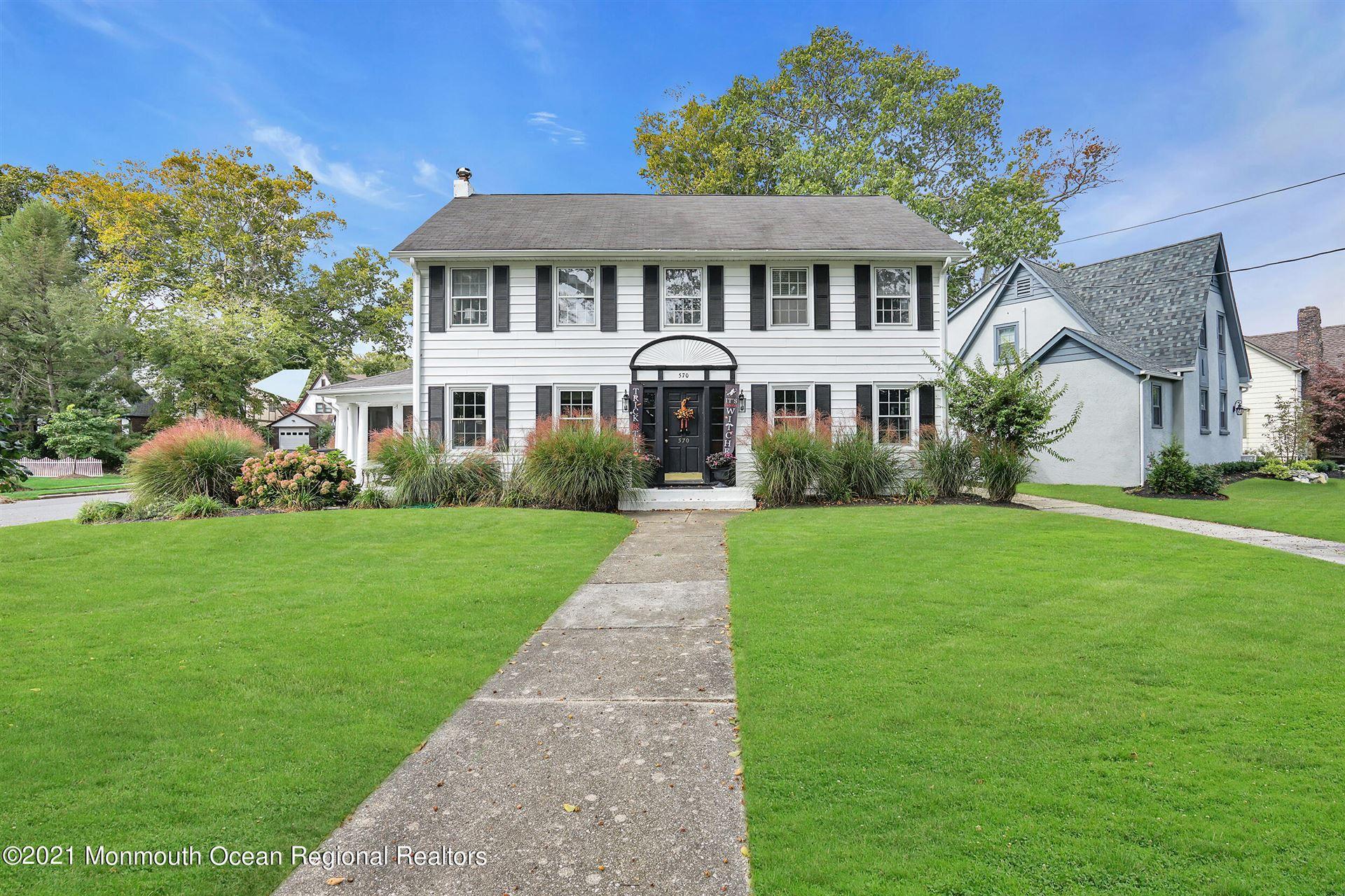570 N Edgemere Drive, Allenhurst, NJ 07711 - MLS#: 22133455