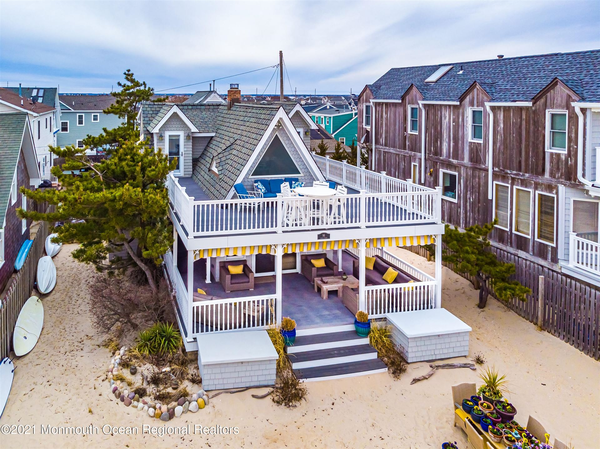 96 Ocean Front, Lavallette, NJ 08735 - MLS#: 22107952