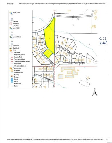 Photo of 1 NORTHGATE Road, Greenville, AL 36037 (MLS # 494892)