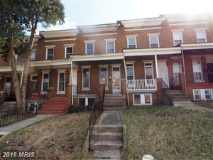 Photo of 2809 CLIFTON AVE, BALTIMORE, MD 21216 (MLS # BA10188006)