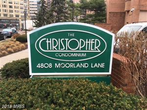 Photo of 4808 MOORLAND LN SW #1004, BETHESDA, MD 20814 (MLS # MC10162020)