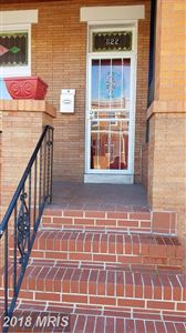 Photo of 822 LINWOOD AVE N, BALTIMORE, MD 21205 (MLS # BA10139028)