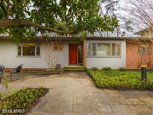 Photo of 4716 ESSEX AVE, CHEVY CHASE, MD 20815 (MLS # MC10163040)