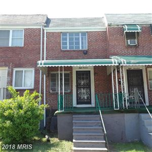 Photo of 819 BONAPARTE AVE, BALTIMORE, MD 21218 (MLS # BA10252055)