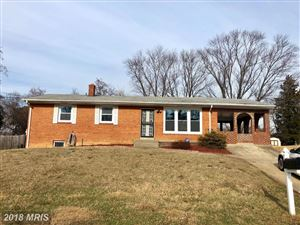 Photo of 1822 KNOLL DR, OXON HILL, MD 20745 (MLS # PG10141056)
