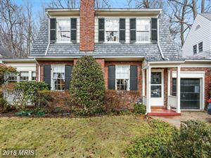 Photo of 113 HESKETH ST, CHEVY CHASE, MD 20815 (MLS # MC10157070)