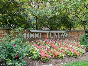 Photo of 4000 TUNLAW RD NW #127, WASHINGTON, DC 20007 (MLS # DC10085085)