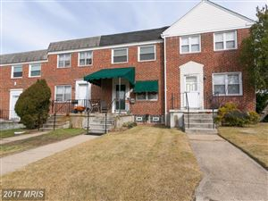 Photo of 7803 HILLSWAY AVE, PARKVILLE, MD 21234 (MLS # BC10109092)