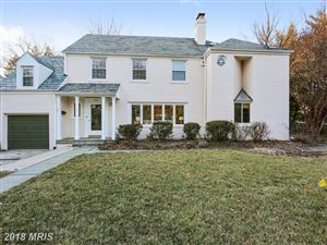Photo of 3201 CUMMINGS LN, CHEVY CHASE, MD 20815 (MLS # MC10154093)