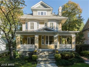 Photo of 5 IRVING ST E, CHEVY CHASE, MD 20815 (MLS # MC10246114)