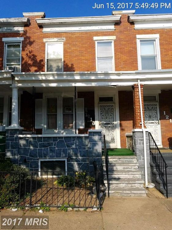 Photo for 1213 POTOMAC ST N, BALTIMORE, MD 21213 (MLS # BA10104132)