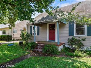 Photo of 144 JEFFERSON ST, ANNAPOLIS, MD 21403 (MLS # AA10318145)