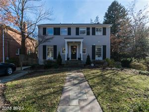 Photo of 3410 TAYLOR ST, CHEVY CHASE, MD 20815 (MLS # MC10163145)