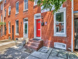 Photo of 1219 WILLIAM ST, BALTIMORE, MD 21230 (MLS # BA10299158)