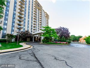 Photo of 7420 WESTLAKE TER #801, BETHESDA, MD 20817 (MLS # MC10252161)