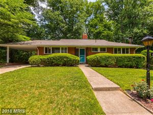 Photo of 5909 RUDYARD DR, BETHESDA, MD 20814 (MLS # MC10259161)