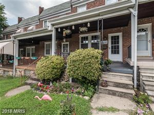 Photo of 1428 37TH ST W, BALTIMORE, MD 21211 (MLS # BA10322175)