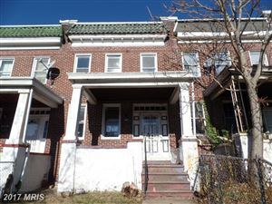 Photo of 1924 29TH ST E, BALTIMORE, MD 21218 (MLS # BA10121193)