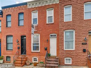 Photo of 706 ROBINSON ST S, BALTIMORE, MD 21224 (MLS # BA10324224)