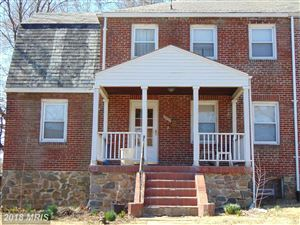 Photo of 3301 DOLFIELD AVE, BALTIMORE, MD 21215 (MLS # BA10184231)