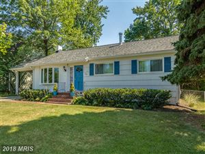 Photo of 809 PARKWOOD AVE, ANNAPOLIS, MD 21403 (MLS # AA10299257)