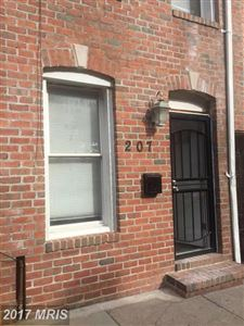 Photo of 207 REGESTER ST S, BALTIMORE, MD 21231 (MLS # BA10104264)