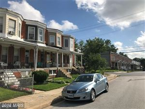 Photo of 3113 OAKFORD AVE, BALTIMORE, MD 21215 (MLS # BA10320268)