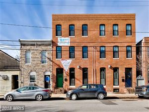 Photo of 1424 HULL ST, BALTIMORE, MD 21230 (MLS # BA9956270)