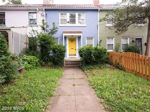 Photo of 1355 KENNEDY ST NW, WASHINGTON, DC 20011 (MLS # DC10216291)
