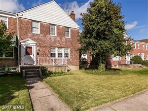 Photo of 1809 EDGEWOOD RD, PARKVILLE, MD 21234 (MLS # BC10093305)