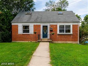Photo of 716 LEAFYDALE TER, BALTIMORE, MD 21208 (MLS # BC10320309)