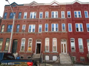 Photo of 1005 LAFAYETTE AVE W, BALTIMORE, MD 21217 (MLS # BA10140310)