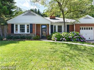 Photo of 9000 SPRING HILL LN, CHEVY CHASE, MD 20815 (MLS # MC10277333)