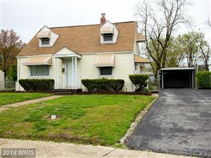 Photo of 3401 YARDLEY DR, BALTIMORE, MD 21222 (MLS # BC10221341)