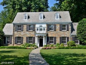 Photo of 6400 BROOKSIDE DR, CHEVY CHASE, MD 20815 (MLS # MC9923341)