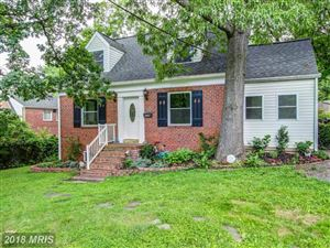 Photo of 608 ELM AVE, TAKOMA PARK, MD 20912 (MLS # MC10276343)