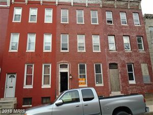 Photo of 1625 DIVISION ST, BALTIMORE, MD 21217 (MLS # BA10186352)