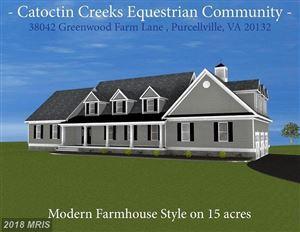 Photo of 38042 GREENWOOD FARM LN, PURCELLVILLE, VA 20132 (MLS # LO10217358)