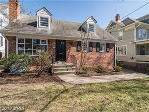 Photo of 111 QUINCY ST, CHEVY CHASE, MD 20815 (MLS # MC10196364)